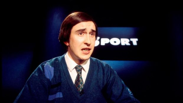 Steve Coogan as Partridge in 2002. Photograph: BBC