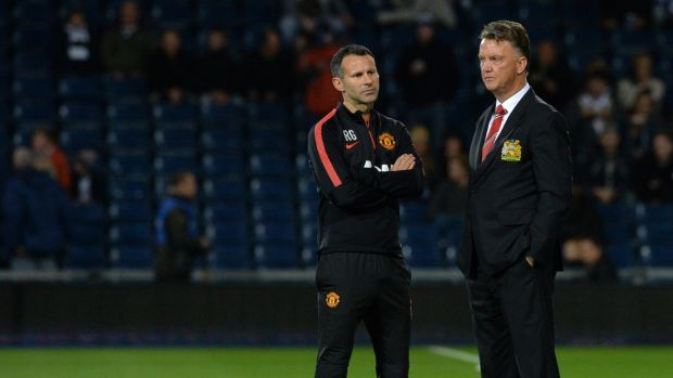 Ryan Giggs worked under Louis van Gaal as assistant during his Manchester United tenure. Photograph: Paul Ellis/AFP/Getty