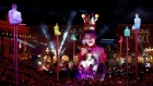 World leaders ridiculed during Nice festival's visual extravaganza