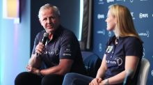 Laureus Academy chairman Sean Fitzpatrick speaks during a Rugby World Cup discussion in Monaco. Photo: Boris Streubel/Getty Images for Laureus