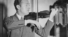 Jascha Heifetz's New York debut turned up the heat on violinists