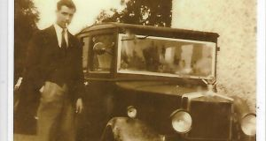 William Foran and his Model T Ford: 'It was unusual to own a car at the time'