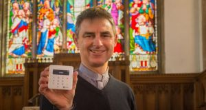 The Church of England introduced contactless payment terminals in its more than 16,000 churches, cathedrals and religious sites with the aim of making portable card readers available. Photograph: Chris Marsh