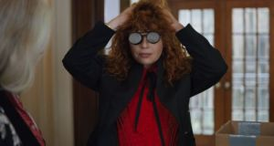 Death quickly becomes an inconvenience in Russian Doll. Photograph: Netflix