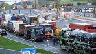 Irish hauliers could be heavily impacted by Brexit. Photograph:  Maxwell's Handout/PA