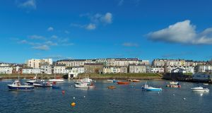 Portrush harbour, Co Antrim.