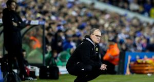 Leeds United manager Marcelo Bielsa admitted to spying on all opponents this season. Photo: Alex Dodd - CameraSport via Getty Images