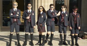 The Umbrella Academy: mixed-up superheroes