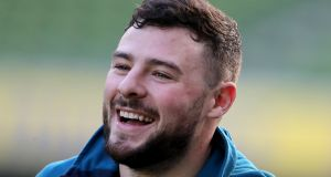 Robbie Henshaw has signed a new deal with Leinster and the IRFU until 2022. Photograph: Dan Sheridan/Inpho