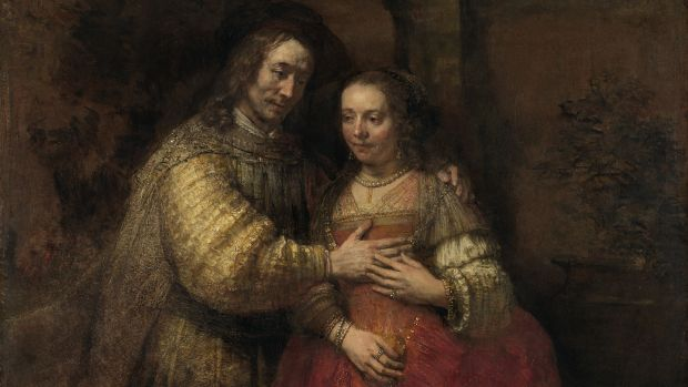 Rembrandt's Isaac and Rebecca, known as The Jewish Bride, around 1665. Photograph: The Rijksmuseum, Amsterdam
