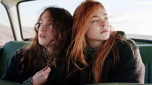 Elle Fanning and Alice Englert in Sally Potter's Ginger & Rosa. Photograph: Focus Features