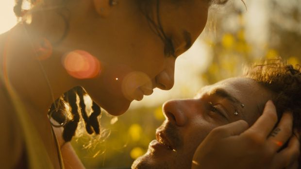 Sasha Lane and Shia LaBeouf in American Honey, which was shot by Robbie Ryan