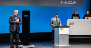 IBM's Project Debater pitted against debate champion Harish Natarajan last week.