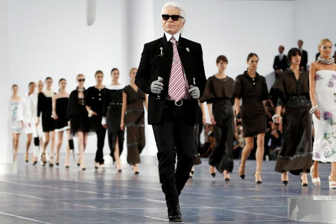 Karl Lagerfeld A life in pictures