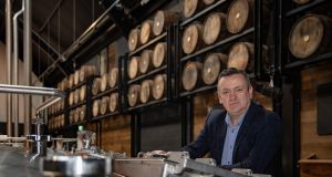 Darryl McNally, master distiller at  Dublin Liberties Distillery