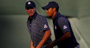 Steve Stricker is expected to be named as US Ryder Cup captain  for the 2020 match in his home state of Wisconsin. Photograph: Jim Young/Reuters