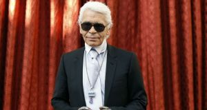 Karl Lagerfeld has died aged 85. Photograph: Jacky Naegelen/AFP