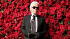 Karl Lagerfeld, November, 2011. Photograph: Reuters/Kena Betancur/File Photo