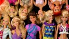 Mattel shares dropped 3.3%  – company said demand for its iconic Barbie doll was slowing.