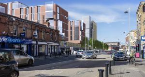 Dublin City Council has long wanted to redevelop the properties that form the heart of Phibsborough village
