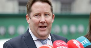 Fianna Fáil's housing spokesman, Darragh O'Brien, said his party's  proposed Bill was aimed at people who already paid management fees for services where they lived. Photograph: Laura Hutton/ The Irish Times
