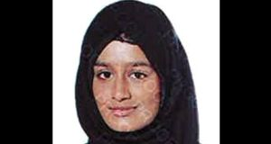 Undated handout file photo issued by the Metropolitan Police of Shamima Begum Photograph: : Metropolitan Police/PA Wire