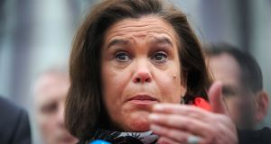 "Mary Lou McDonald: ""There is nothing to apologise for and no retraction to be made."" Photograph: Gareth Chaney/Collins"