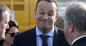 What's the big deal about it anyway? That's the impression Leo gives every time questions about the national children's hospital come up. Photograph: Colin Keegan, Collins Dublin