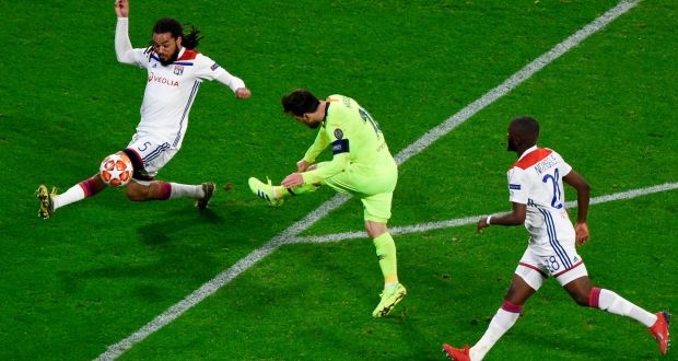 Barcelona frustrated as Lyon hold out for draw