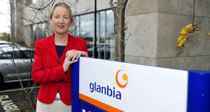 Glanbia managing director Siobhan Talbot at the company's offices in Dublin. Photograph: Aidan Crawley/Bloomberg