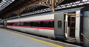 The first morning Enterprise leaves Belfast at 6.45am and arrives at 9am in Connolly Station in Dublin
