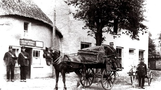 The old post office in Kilmacthomas circa 1910