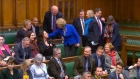 Former Tory MPs take seats on House of Commons opposition benches