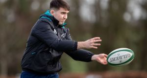 Billy Scannell is in the Ireland Under-20 squad travelling to Italy this weekend. Photograph: Morgan Treacy/Inpho