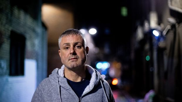 Clerical abuse survivor Darren McGavin, now 47 and still in recovery. Photograph: Tom Honan/The Irish Times.