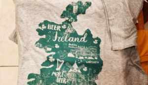 What are the worst - or best, depending on your view - Paddy's Day t-shirts you've ever seen? Photograph: @FXKennedy/Twitter
