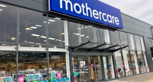 Mothercare's Irish profits fell by 72 per cent to €135,961 in the 12 months to the end of March 25th last. Photograph: iStock