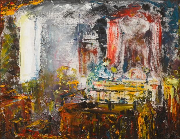Lot 22: 'Justice' by Jack B Yeats (€100,000-€150,000)