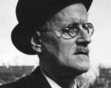 By dropping the apostrophe, James Joyce turned Finnegans Wake into a statement: commanding Finnegans everywhere to rise from the dead. Photograph: Hulton Archive/Getty Images