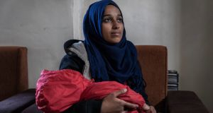 Hoda Muthana, who left Alabama in 2014 to join the Islamic State terror group in Syria. Photograph: Ivor Prickett/New York Times