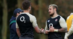 Jack Nowell will start for England in Cardiff.  Photograph: David Rogers/Getty Images
