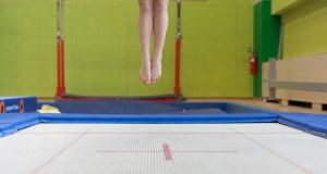 It was not known if the injuries had been caused by glass from a broken mirror or by a protruding metal bolt on the trampoline. File photograph: iStock