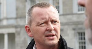 People Before Profit TD Richard Boyd Barrett claimed the Government had prevented Bríd Smith's legislation from progressing 'because the Taoiseach and the Government do not support its contents'.    Photograph: Cyril Byrne/The Irish Times
