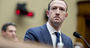 Facebook chief executive Mark Zuckerberg: Mohammad Dahlan, the former leader of the Gaza division of Palestinian group Fatah, has filed a case against Facebook Ireland.