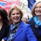 Independent MPs and former Tory party members, Heidi Allen (left), Anna Soubry (centre) and Sarah Wollaston. Photograph: Simon Dawson/Reuters