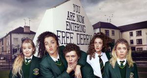 Derry Girls, the Channel 4 comedy written by Lisa McGee