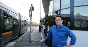 """Cutting Ranelagh in half was just abhorrent to all the people who live here,"" says Michael O'Donovan, owner of Mima Coffee Company at the Beechfield Luas stop. Photograph: Nick Bradshaw"