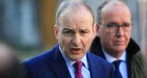 "Micheál Martin:  ""When you strip it all back . . .  he has made the right call on all the big issues and he has excelled in all the elections,"" said one frontbencher. Photograph: Gareth Chaney Collins"