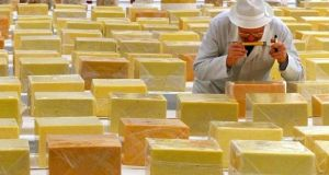 Financial support of €5.75 million is being given by Enterprise Ireland to the Cork-based Carbery Group, the manufacturer of Dubliner cheddar cheese, to cope with the effects of Brexit.