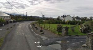 The pilot, Michael McCarrick, was killed instantly when the small plane crashed into a field at Breaffy, on the Bonninconlon side of Ballina, Co Mayo. File photograph: Google Street View